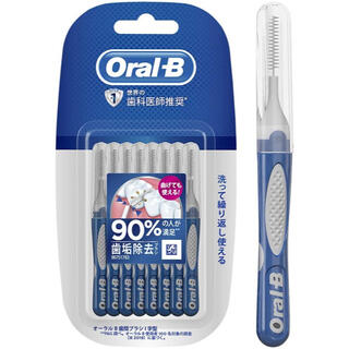 ピーアンドジー(P&G)のオーラルB  歯間ブラシ I字型ブラシ SS  キャップ付 10本入 ×  1個(歯ブラシ/デンタルフロス)