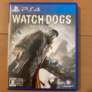 プレイステーション4(PlayStation4)のウォッチドッグス PS4 動作品(家庭用ゲームソフト)