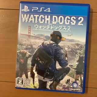 プレイステーション4(PlayStation4)のウォッチドッグス2 PS4 動作品(家庭用ゲームソフト)