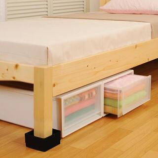 ベッド、ソファの脚 延長台 4個セット(その他)