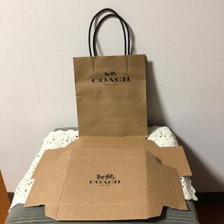 コーチ(COACH)のコーチ ショップ袋と財布用の箱💌未使用(ショップ袋)