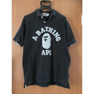 アベイシングエイプ(A BATHING APE)のエイプ ポロシャツSサイズ(ポロシャツ)