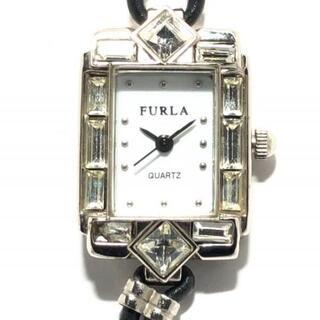 フルラ(Furla)のFURLA(フルラ) 腕時計 - レディース 白(腕時計)