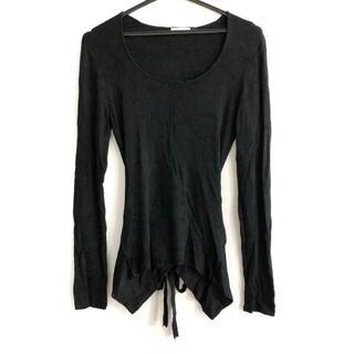 トゥービーシック(TO BE CHIC)のトゥービーシック 半袖カットソー 2 M 黒(カットソー(半袖/袖なし))