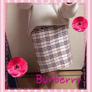 バーバリー(BURBERRY)のBurberryスカート2999円☆(ひざ丈スカート)