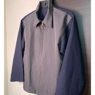 Marni - 【Marniジャケット似】バイカラー シャツジャケット