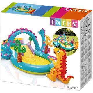 新品未開封 INTEX インテックス ダイナランドプレーセンター 日本正規品(その他)