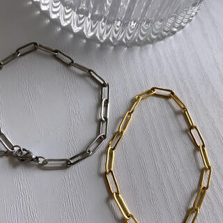 トーガ(TOGA)のstainlesssteelchainbracelet /silver/#500(ブレスレット)