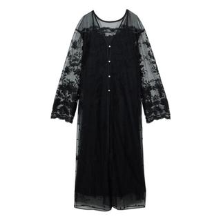 アメリヴィンテージ(Ameri VINTAGE)の【タグ付き】2WAY INVERSION LACE GOWN DRESS(ロングドレス)