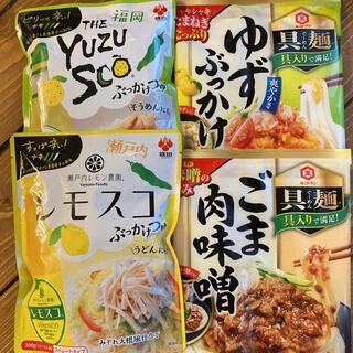 キッコーマン(キッコーマン)のごま肉味噌 ゆずぶっかけ レモンスコ YUZUSCO   ぶっかけつゆ(レトルト食品)