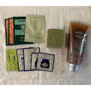 ロクシタン(L'OCCITANE)の専用ページ ロクシタン スクラブ&石鹸セット 色んなサンプル付き(ボディスクラブ)