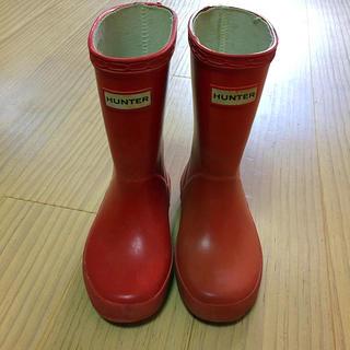 ハンター(HUNTER)のHUNTER キッズ 長靴 レインシューズ 8 16〜17cm位(長靴/レインシューズ)
