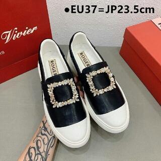 ロジェヴィヴィエ(ROGER VIVIER)の23.5cmRoger Vivier ファッション 女靴 ローファー 革靴(スニーカー)