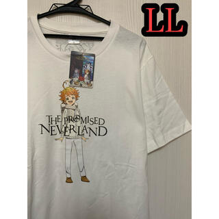 約束のネバーランド エマ Tシャツ LLサイズ ホワイト(Tシャツ/カットソー(半袖/袖なし))