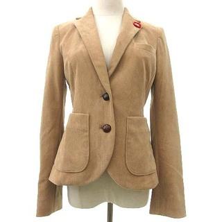 ダブルスタンダードクロージング(DOUBLE STANDARD CLOTHING)のDOUBLE STANDARD CLOTHING ジャケット 36 ベージュ(テーラードジャケット)