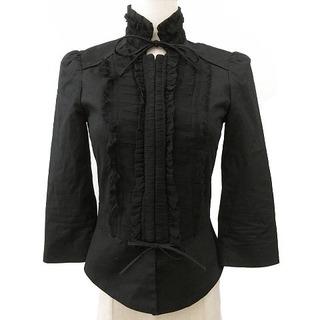 ダブルスタンダードクロージング(DOUBLE STANDARD CLOTHING)のDOUBLE STANDARD CLOTHING ジャケット 七分袖 ブラック(その他)