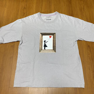 バンクシー BALLOON GIRL Tシャツ(Tシャツ/カットソー(半袖/袖なし))