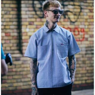ベンデイビス(BEN DAVIS)のBEN DAVIS アメリカ製 USA製 ハーフジップシャツ(シャツ)