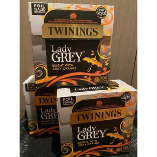 イギリス購入 日本未入荷 Twinings レディグレー 3箱 セット オレンジ(茶)