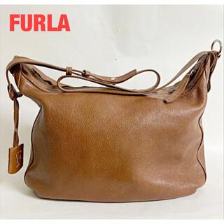 フルラ(Furla)の【人気】FURLA フルラ ショルダーバッグ レザー ブラウン 肩掛け(ショルダーバッグ)