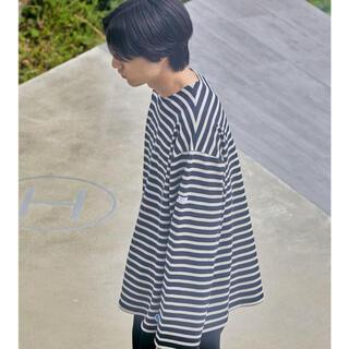 オーシバル(ORCIVAL)のORCIVAL ビッグ ボーダー バスクシャツ 3(Tシャツ/カットソー(七分/長袖))