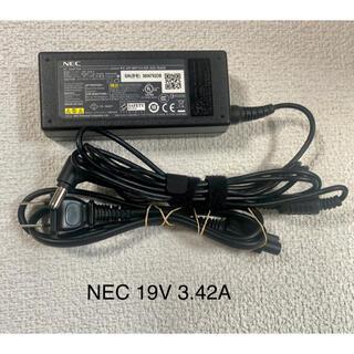 エヌイーシー(NEC)の☆送料込み☆中古純正品NECのACアダプター19V 3.42A(PC周辺機器)