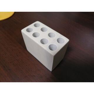 ムジルシリョウヒン(MUJI (無印良品))の無印良品 ペン立て 石鹸石 アイボリー(ペンケース/筆箱)