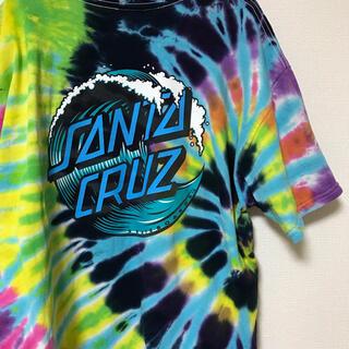 パウエル(POWELL)のSANTA CRUZ サンタクルーズ  00s タイダイ ビッグTシャツ(Tシャツ/カットソー(半袖/袖なし))