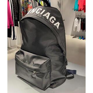 バレンシアガ(Balenciaga)の新品 バレンシアガ BALENCIAGA バックパック WHEEL ロゴ(バッグパック/リュック)