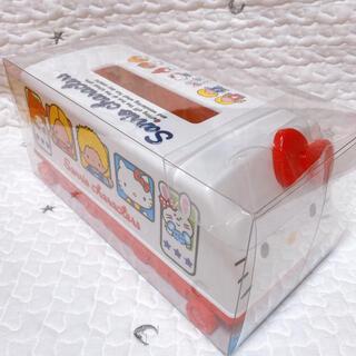 サンリオ(サンリオ)のサンリオキャラクターズ 動くトレイン形 ティッシュボックス ティッシュケース(ティッシュボックス)