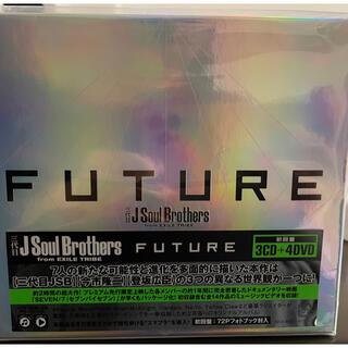サンダイメジェイソウルブラザーズ(三代目 J Soul Brothers)の【三代目jsb】新品ビニール付き/初回盤3CD +4DVD/FUTURE(ミュージック)