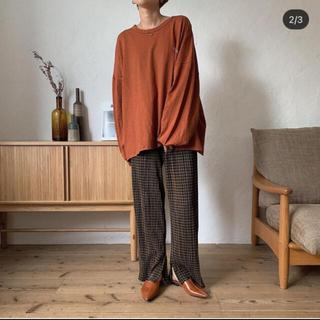 トゥデイフル(TODAYFUL)のnokcha トップス(Tシャツ(長袖/七分))