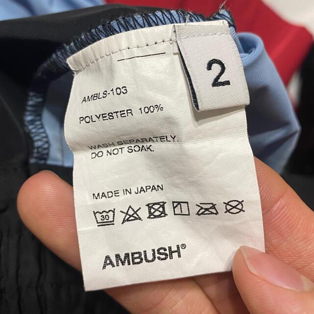 AMBUSH(アンブッシュ)のAMBUSH ナイロンジャケット メンズのジャケット/アウター(ナイロンジャケット)の商品写真