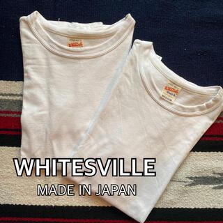 トウヨウエンタープライズ(東洋エンタープライズ)のWHITESVILLE ホワイツビル ヘビーウエイト 2PACK Tシャツ(Tシャツ/カットソー(半袖/袖なし))