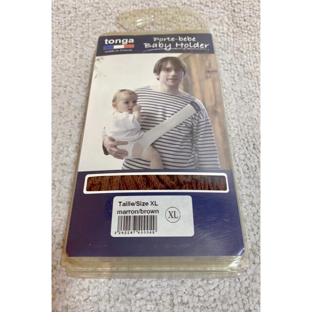 tonga(トンガ)のTONGA ベビーホルダー 抱っこベルト新品 キッズ/ベビー/マタニティの外出/移動用品(抱っこひも/おんぶひも)の商品写真
