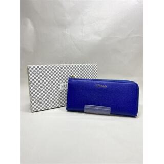 フルラ(Furla)のFURLA フルラ レザー製 長財布 ブルー(財布)