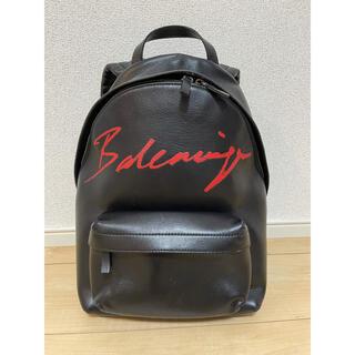 バレンシアガ(Balenciaga)のBALENCIAGA レザーリュック バレンシアガ 定価18万円 19AW 美品(リュック/バックパック)