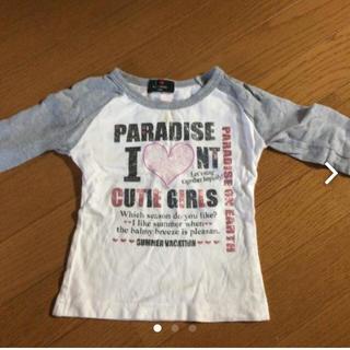 シマムラ(しまむら)のかわいいロンTシャツ キッズ ベビー(Tシャツ/カットソー)
