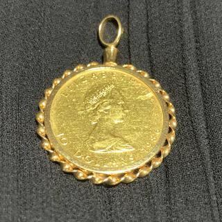 メイプルリーフ金貨 ペントップ(ネックレス)