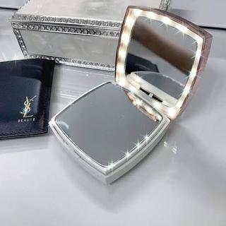 フランフラン(Francfranc)の新品 Francfranc ミラー 手鏡 LEDライト(ミラー)