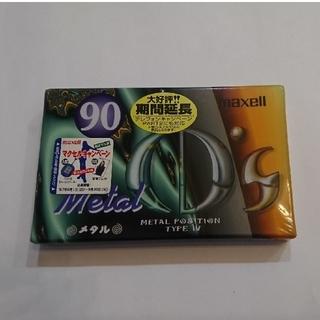 maxell - メタルカセットテープ  【未開封品】