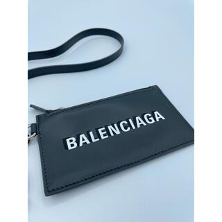 バレンシアガ(Balenciaga)の【新品】バレンシアガ BALENCIAGA コイン カードケース キーリング付き(コインケース/小銭入れ)