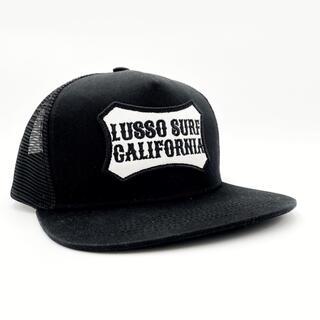 スタンダードカリフォルニア(STANDARD CALIFORNIA)の西海岸スタイル☆LUSSO SURF ボックスロゴ刺繍キャップ☆帽子 RVCA(キャップ)