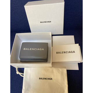 バレンシアガ(Balenciaga)のバレンシアガ ミニウォレット グレー(折り財布)