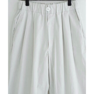 BEAMS - RYU two tuck wide pants