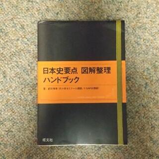 オウブンシャ(旺文社)の日本史要点図解整理ハンドブック(語学/参考書)