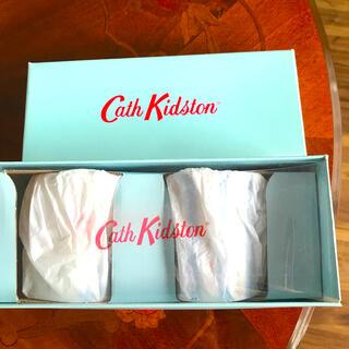 キャスキッドソン(Cath Kidston)のCath Kidstonマグカップ ペア 2個 新品未使用(グラス/カップ)