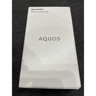 アクオス(AQUOS)のAQUOS sense4 lite❤︎新品未使用❤︎ブラック(スマートフォン本体)