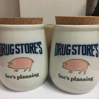 ドラッグストアーズ(drug store's)の4-12【ドラッグストアーズ】キャンディポット|新品・未使用品(小物入れ)