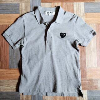 コムデギャルソン(COMME des GARCONS)のPLAY COMME des GARCONS ポロシャツ グレー(ポロシャツ)